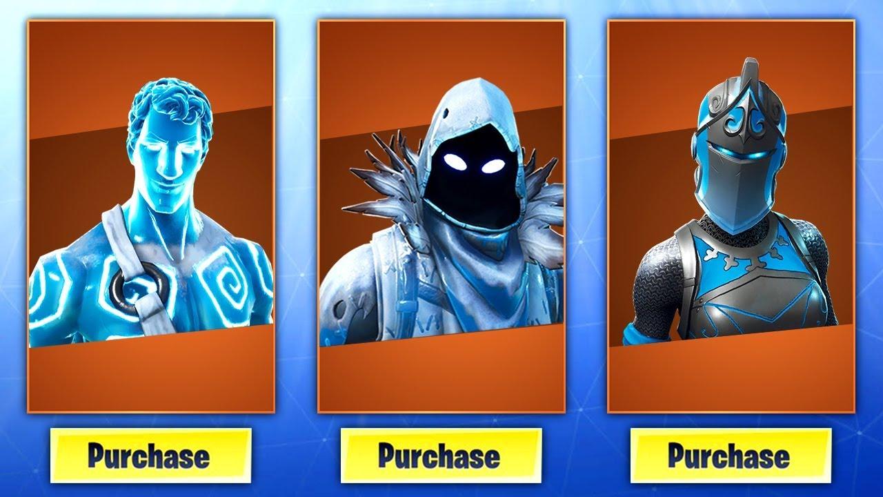 The New Frozen Legends Pack In Fortnite Fortnite Frozen Legends