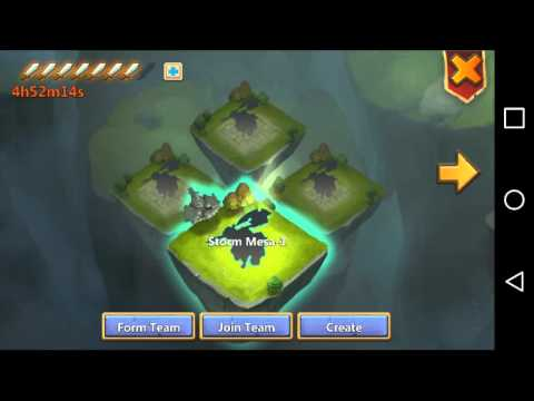 Castle Clash-Storm Mesa GamePlay
