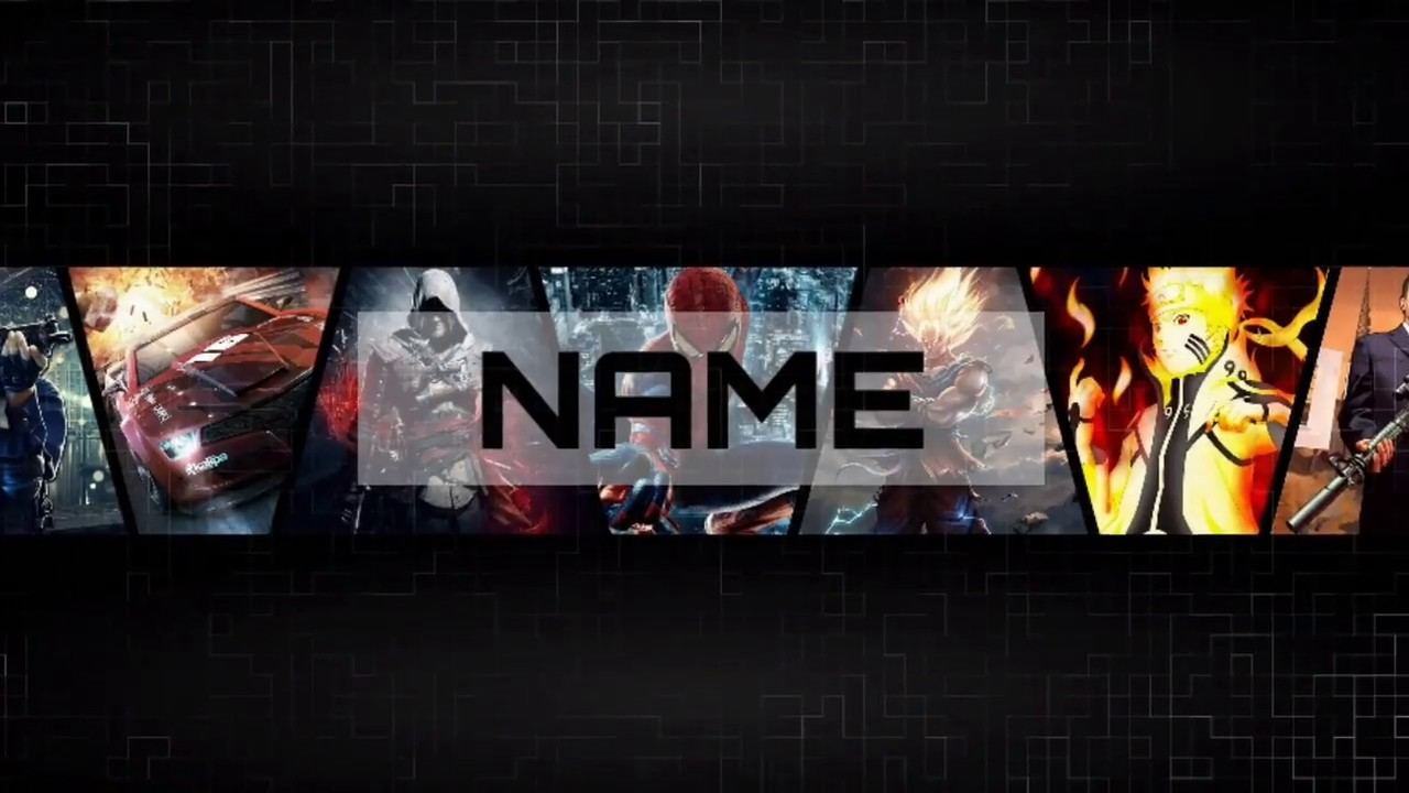 How To Make A Gaming Youtube Banner On Android Ps Touch Youtubetutorial