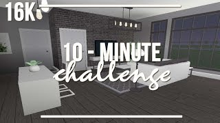 ROBLOX | Welcome to Bloxburg: 10 Minute Challenge 16k