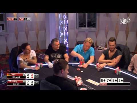 CASH KINGS E15 1/2 - DE - NLH 10/25 - Live cash game poker show - Jens Knossalla