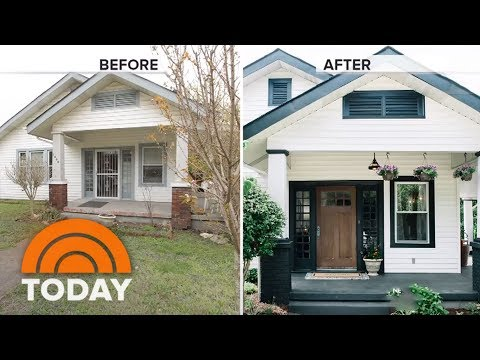 'Listed Sisters' Share Dramatic Before-And-After Photos Of Home Renovations | TODAY