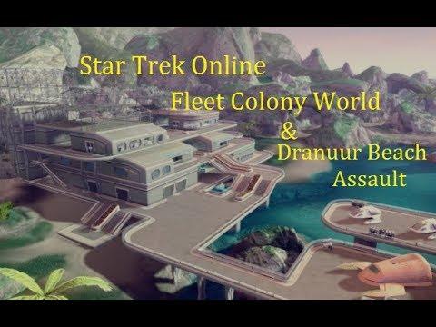 StarTrek online: Fleet Colony World & Dranuur Beach Assault