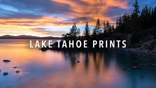 Lake Tahoe Prints by Gabriella Viola