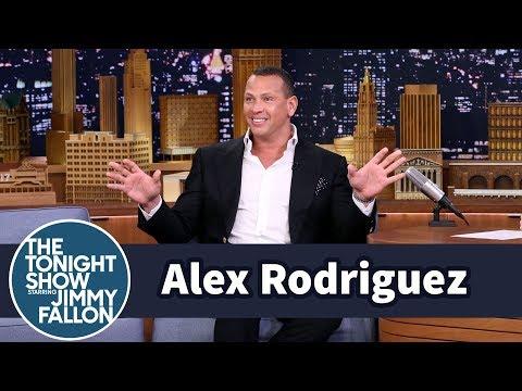 Alex Rodriguez Often Gets Mistaken for Jennifer Lopez's Security Guard