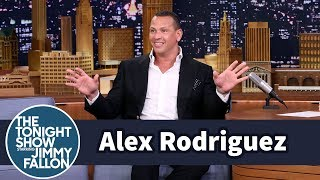 Alex Rodriguez Often Gets Mistaken for Jennifer Lopez's Security Guard