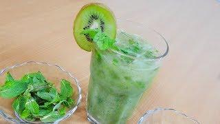 How to make Kiwi Mojito Mocktails  - Iftar Recipes    रीफ्रेशिंग किवी मोइतो मॉकटेल्स