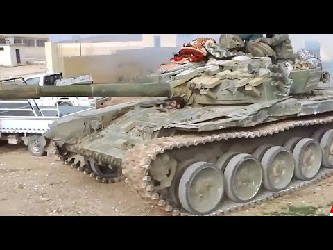 Syrian Army soldiers preparing for the battle | December 29th 2017 | South Idlib province