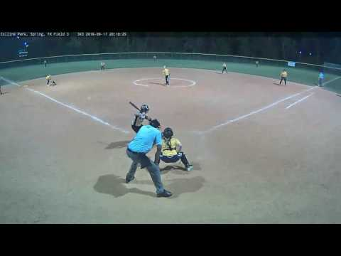 Alexis Pevehouse - 2019 - Impact Gold Fall Exposure 2016 - vs. LA Bombers 16U - 4th Inning, Game 2