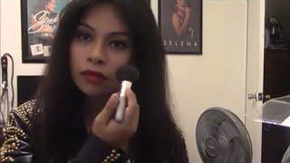 Selena Quintanilla makeup tutorial- Leather Jacket Part 3