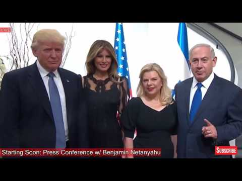 WOW: Benjamin Netanyahu Shows Off His House to President Donald Trump & Melania Trump! AMAZING!