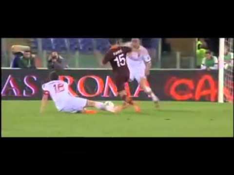 Miralem Pjanic Partido Roma vs Milan