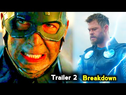 Avengers END GAME Trailer 2 Breakdown in Tamil