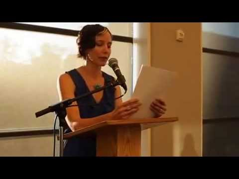 Hilary Camille  'Love Lemons' Reading at City Arts 9 10 2014