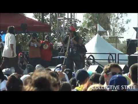 DJ Quik & Suga Free Live From Rock The Bells 2012 HD