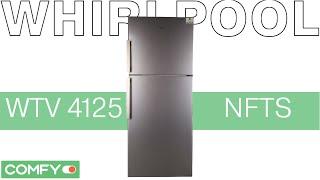 Whirlpool WTV 4125 NF TS - холодильник с системой Fast Cool - Видеодемонстрация от Comfy(Двухкамерный холодильник Whirlpool WTV 4125 NF TS получил верхнее расположение морозильной камеры и удобное функцио..., 2014-10-18T08:28:57.000Z)