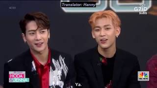 [G7IDSUBS] 190626 Today Show, GOT7 dish on fame, dancing and bonding with fans - GOT7