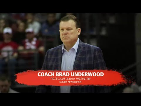 Brad Underwood Postgame Radio Interview at Wisconsin 1/19/18
