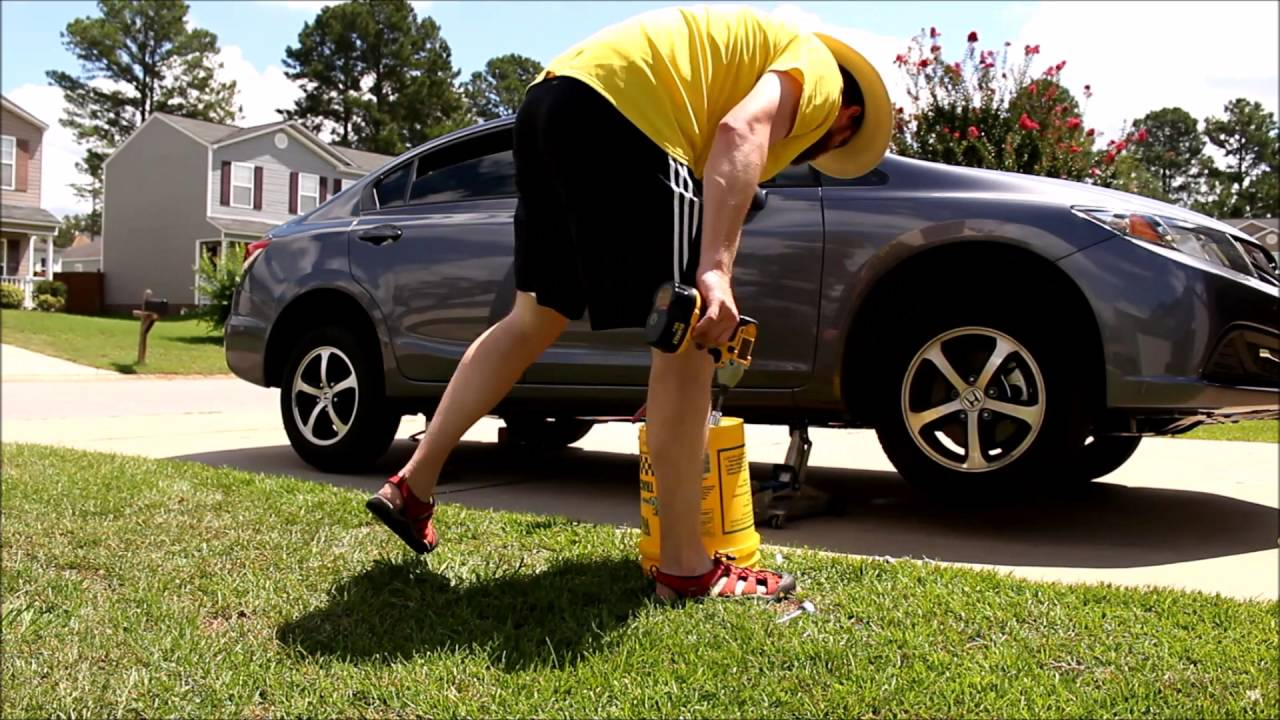 2015 Civic Se Tire Rotation With Dewalt Cordless Impact Wrench