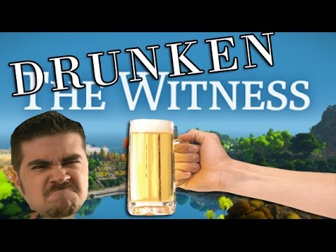 AngryJoe Plays The Witness (Drunken!)