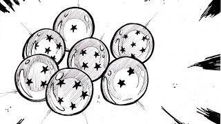 HOW TO DRAW 7 THE DRAGON BALLSドラゴンボール