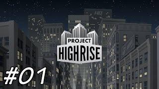 Project Highrise ▶ Wolkenkratzer Simulator #01 - German Deutsch Video