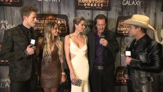 Florida Georgia Line Red Carpet Interview - ACCAs 2014