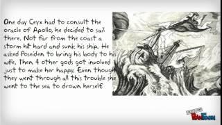 halcyon days greek myth