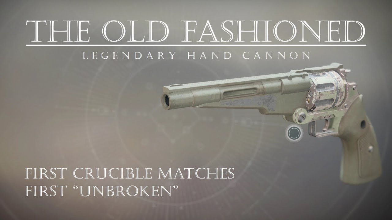 Destiny The Old Fashioned