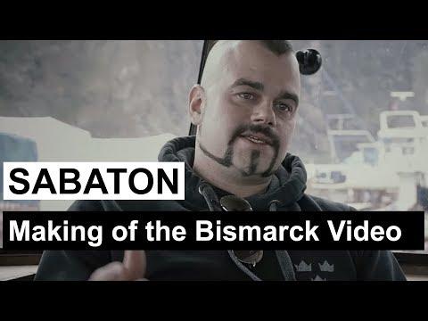 Sabaton Making Of The Bismarck Music Video Youtube