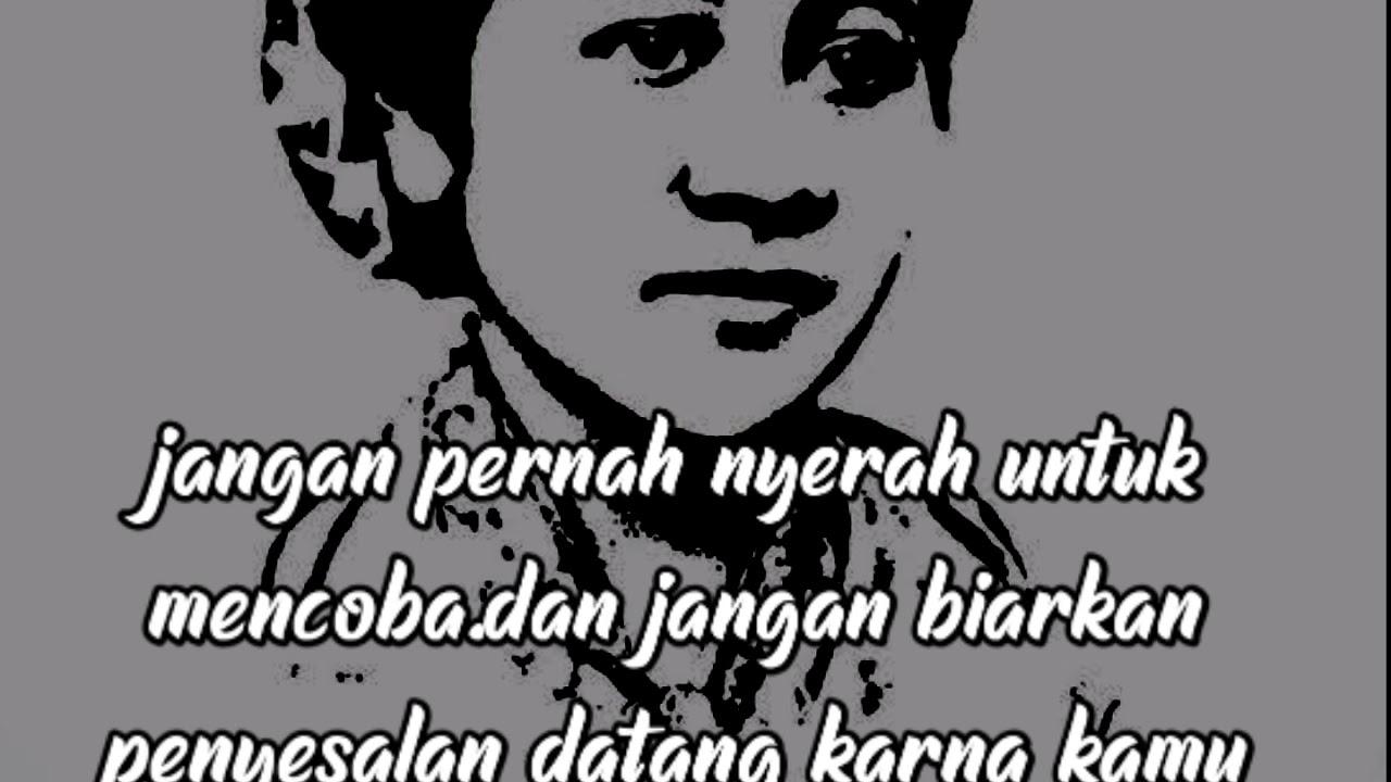 Kata Kata Mutiara Dari Ibu Kartini Youtube