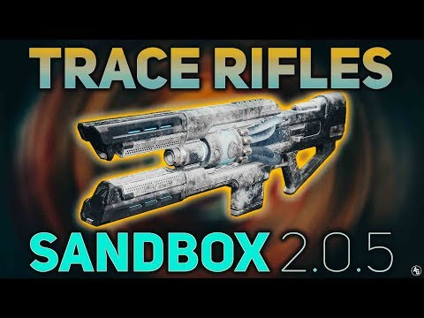 Trace Rifles Ammo BUFF (Sandbox 2.0.5) | Destiny 2 Forsaken