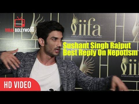 Thumbnail: Sushant Singh Rajput Best Reply On Nepotism In Bollywood | Viralbollywood
