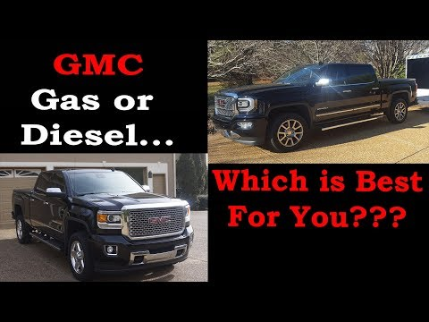 Gas Or Diesel? - GMC 1500 Vs. 2500 - Which Is Best For You???