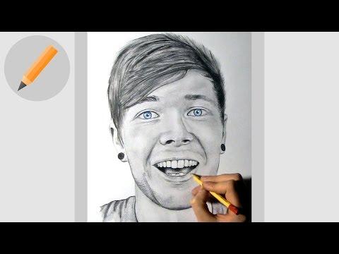 DanTDM | Pencil Drawing