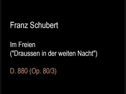 Schubert D880 Im Freien (Draussen in der weiten Nacht).wmv