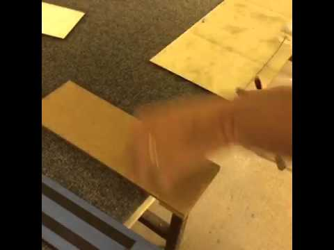 "Cutting Antique mirror glass 4"" x 8"" Subway Tiles"