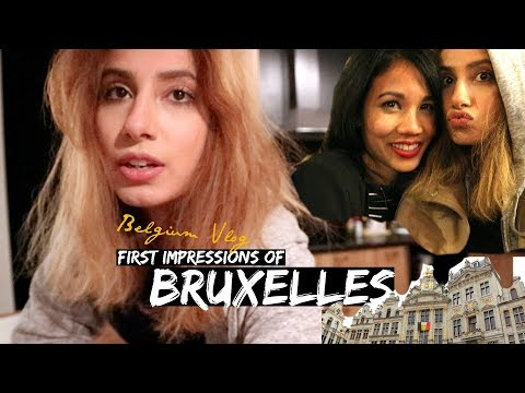 BRUSSELS VLOG #1: Grand Place by day & Delirium Beer Bar by night! | Farah Asif
