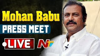 Mohan Babu Press Meet Live | AP Election Results | NTV LIVE