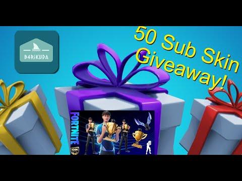 50 sub giveaway!