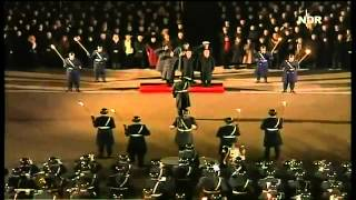السلام الجمهوري الالماني روووووووعه مع حرس الشرف و