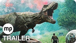 Jurassic World 2 Trailer German Deutsch (2018) Das gefallene Königreich