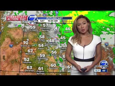 Cool and damp Saturday in Denver