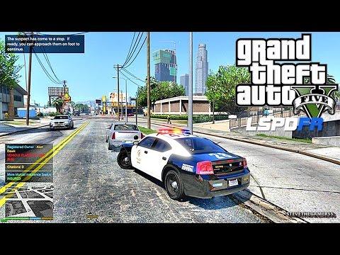 GTA 5 LSPDFR 0.3.1 - EPiSODE 80  - LET'S BE COPS - CITY PATROL (GTA 5 PC POLICE MODS)