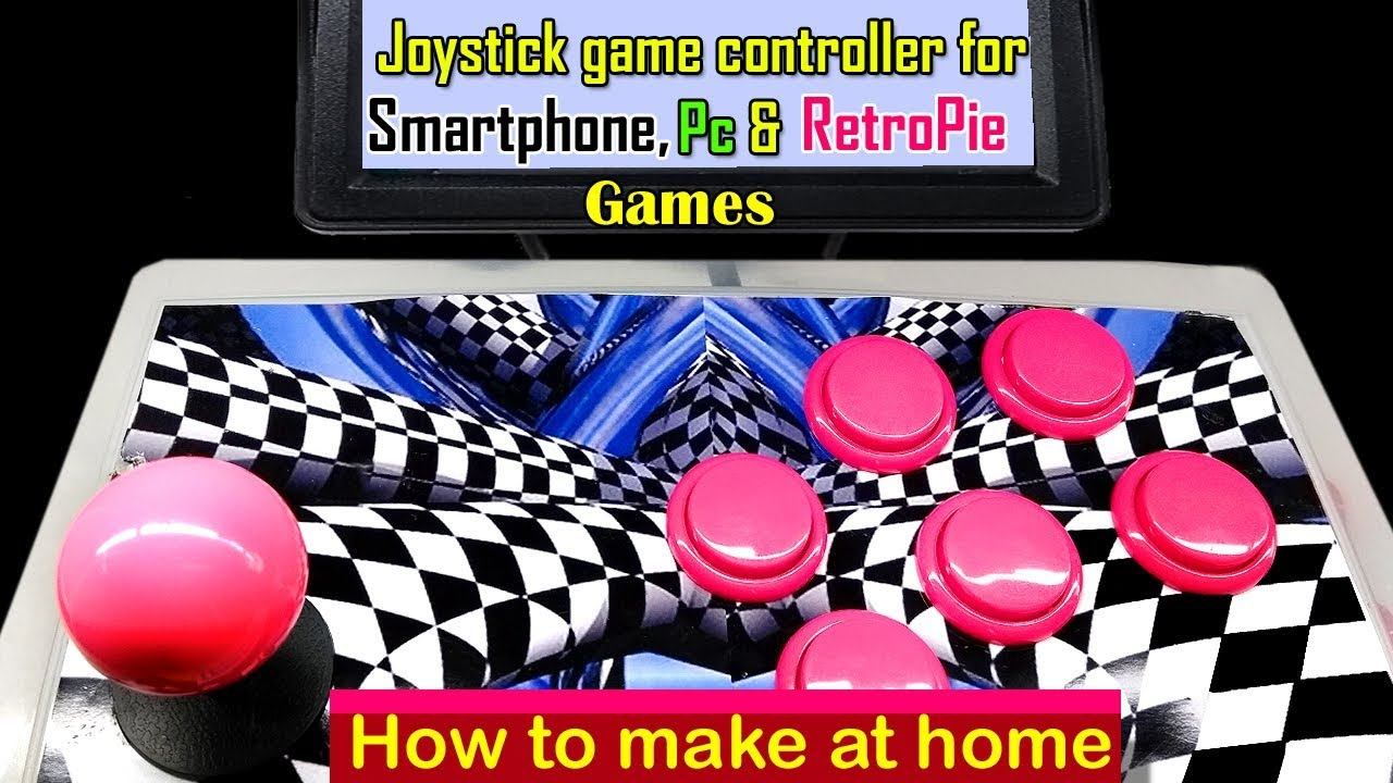 DIY Arcade joystick USB game controller for Android | raspberry pi & PC