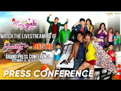[FULL] 'Beauty And The Bestie' Press Conference | December 10, 2015 | Star Cinema