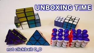 Big SpeedCubeShop Unboxing | MF3RS, Yulong Pyraminx, and More!