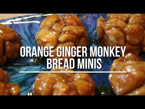 Orange Ginger Monkey Bread Minis