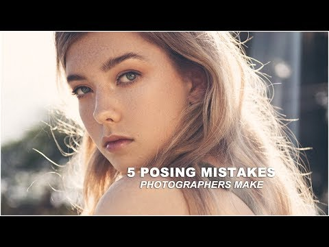 5 MISTAKES Photographers Make When Posing Models || Fashion Photography Tips & Tricks