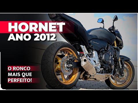 HORNET 2012 | PILOTANDO PELA 1ª VEZ